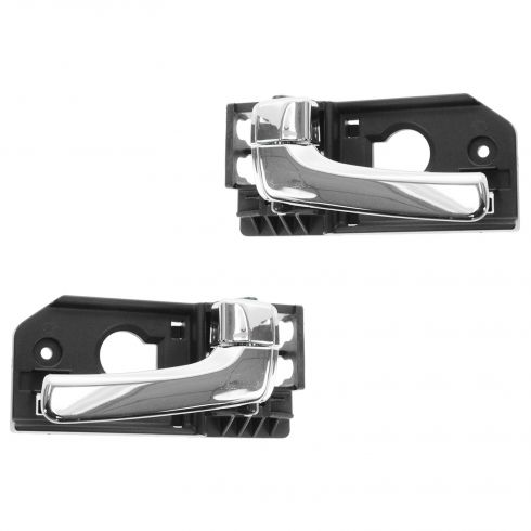 07-08 Hyundai Entourage; 06-12 Kia Sedona Front Chrome Inside Door Handle PAIR