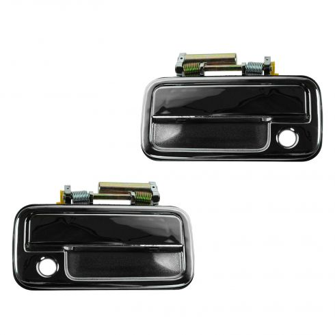 89-94 Isuzu Amigo; 88-95 Pup; 91-97 Rodeo;94-97 Honda Passport Front Chrome Outside Door Handle PAIR