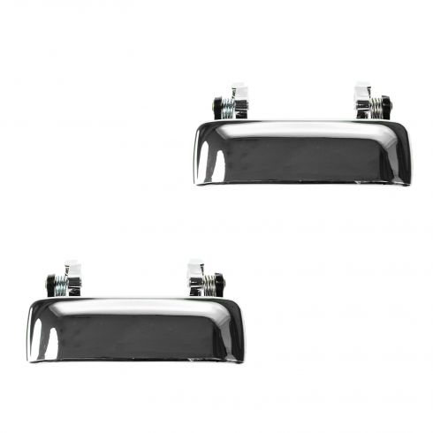 01-11 Ford Ranger, Mazda PU ALL CHROME Front Outside Door Handle PAIR