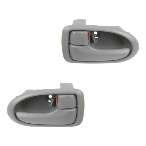 00-06 Mazda MPV Gray Inside Door Handle PAIR