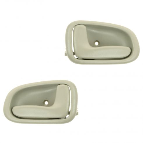 93-97 Toyota Corolla Beige Inside Door Handle PAIR