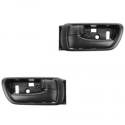 02-06 Toyota Camry Black Inside Door Handle PAIR