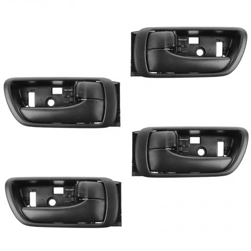 02-06 Toyota Camry Black Inside Door Handle SET of 4