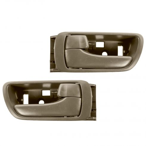 02-06 Toyota Camry Brown Inside Door Handle PAIR