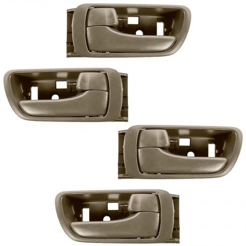 02-06 Toyota Camry Brown Inside Door Handle SET of 4