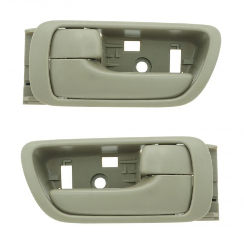 02-06 Toyota Camry Beige Inside Door Handle PAIR