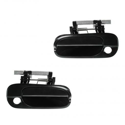 00-06 Nissan Sentra Front PTM Outside Door Handle (w/Keyhole) PAIR