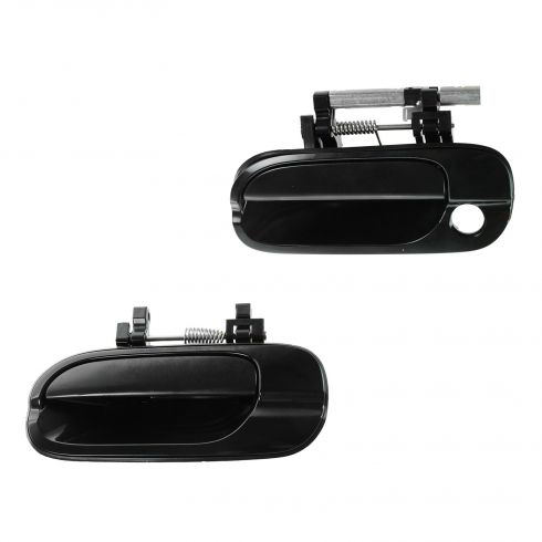 00-06 Nissan Sentra Front PTM Outside Door Handle (LH w/Keyhole, RH w/o Keyhole) PAIR