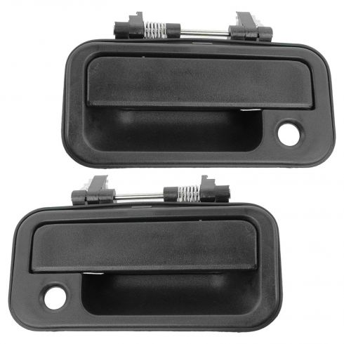89-94 Amigo; 88-95 Pup; 91-97 Rodeo; 94-97 Honda Passport Frt Textured Black Outer Door Handle PAIR