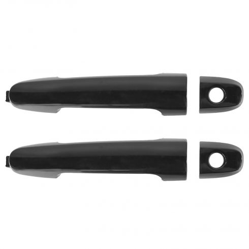 02-03 ES300; 04-03 ES330 05-10 Scion TC; 02-06 Camry Outer PTM Door Handle (w/Keyhole Cover) PAIR