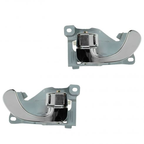 94-98 Mitsubishi Galant Chrome Front Inside Door Handle PAIR