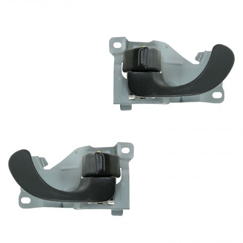 94-98 Mitsubishi Galant Gray Front Inside Door Handle PAIR