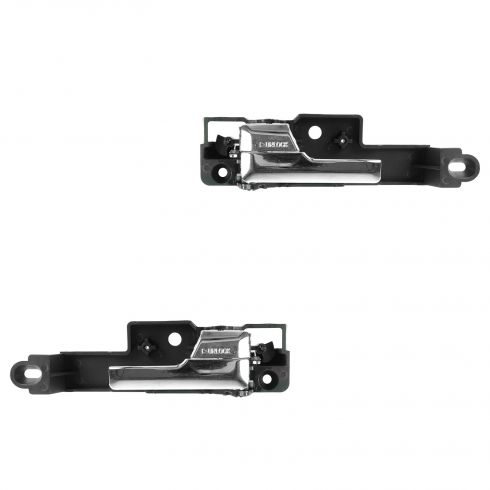 06-12 Fusion; 10-12 Hybrid; 06-11 Milan; 06 Zephyr; 07-12 MKZ Front Door Inside Chrome Handle PAIR
