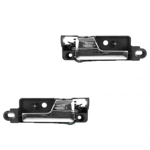 06-12 Fusion; 10-12 Hybrid; 06-11 Milan; 06 Zephyr; 07-12 MKZ Rear Door Inside Chrome Handle PAIR