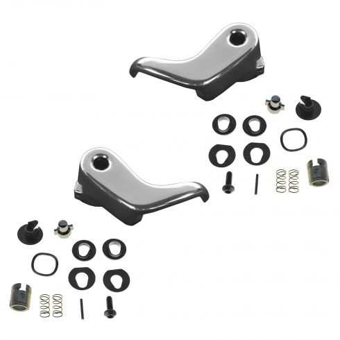 73-94 GM Full Size SUV, PU, Van Locking Vent Window Handle Kit PAIR