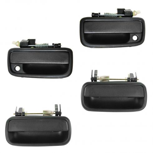 01-04 Toyota Tacoma Crew Cab Textured Black Outside Door Handle SET of 4