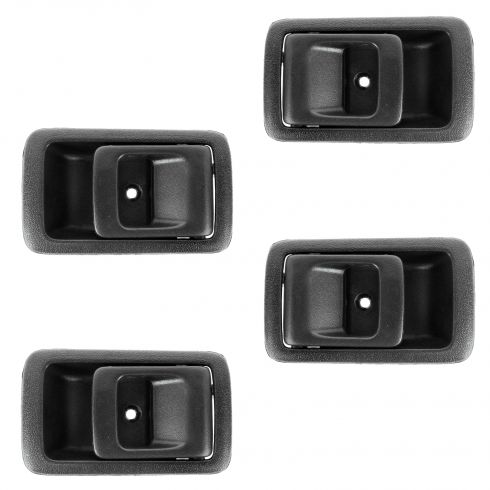 96-02 Toyota 4Runner; 01-04 Tacoma Crew Cab; 95-99 Tercel Inside Black Door Handle SET of 4
