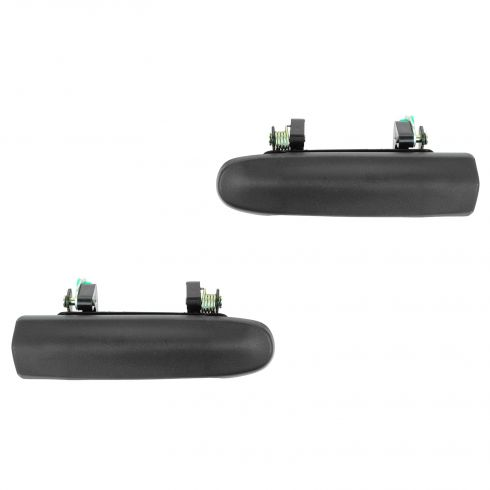 95-98 Ford Windstar Front Textured Black Outside Door Handle PAIR