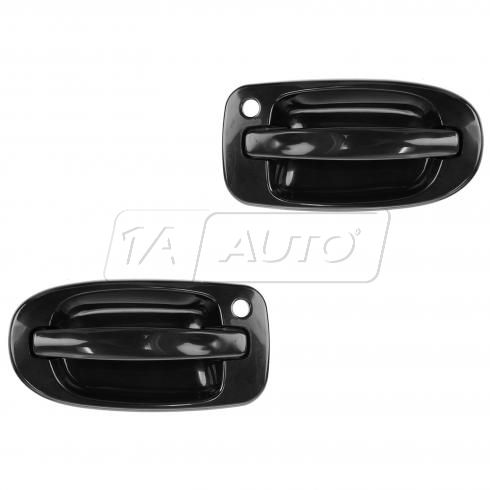 97-09 GM Mini Van Multifit Outside PTM Door Handle (w/Keyhole) PAIR
