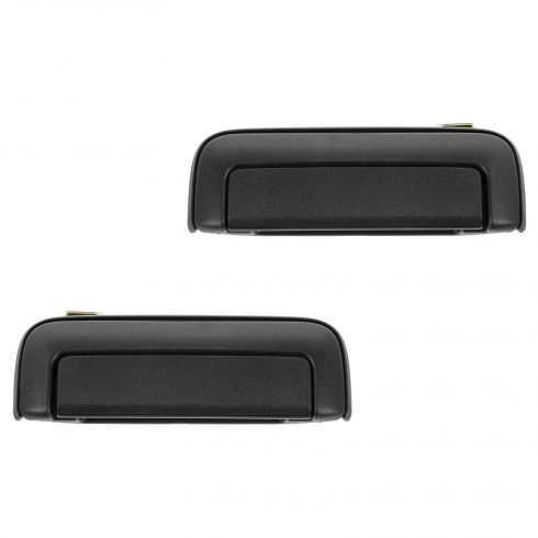 97-04 Mitsubishi Montero Sport Front Textured Black Outside Door Handle PAIR