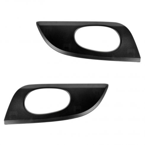 02-09 Envoy; 02-06 Envoy XL; 04-05 Envoy XUV; 05-09 9-7X Frt Txt Black Inside Door Handle Bezel PAIR