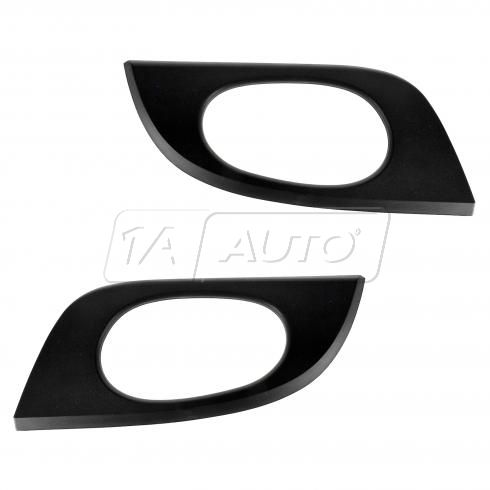 02-09 Envoy; 02-06 Envoy XL; 04-05 Envoy XUV; 05-09 9-7X Rr Txt Black Inside Door Handle Bezel PAIR