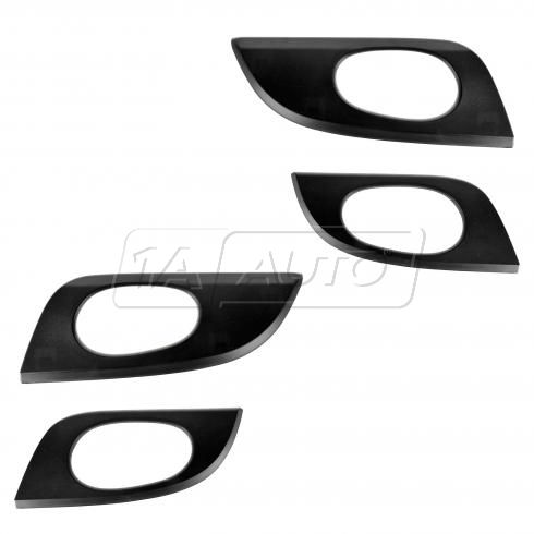 02-09 Envoy; 02-06 Envoy XL; 04-05 Envoy XUV; 05-09 9-7X Txt Black Inner Door Handle Bezel(Set of 4)