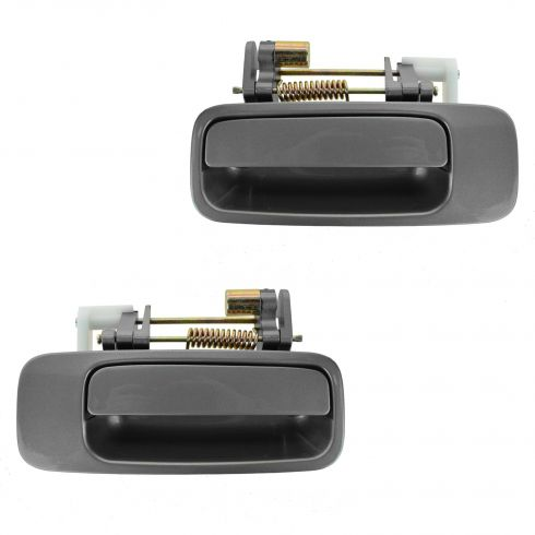 97-01 Toyota Camry, Lexus ES300 Rear Gray (1B2) Exterior Door Handle PAIR