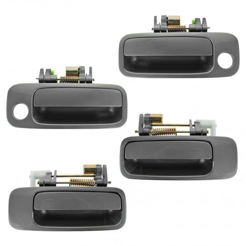 97-01 Toyota Camry, Lexus ES300 Front & Rear Gray (1B2) Exterior Door Handle SET of 4