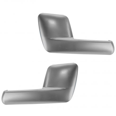 03-06 Ford Expedition, Lincoln Navigator Inside Satin Chrome Door Handle PAIR