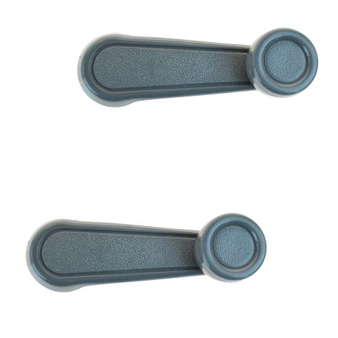 73-04 Toyota Multifit Manual Window Crank Gray Handle PAIR