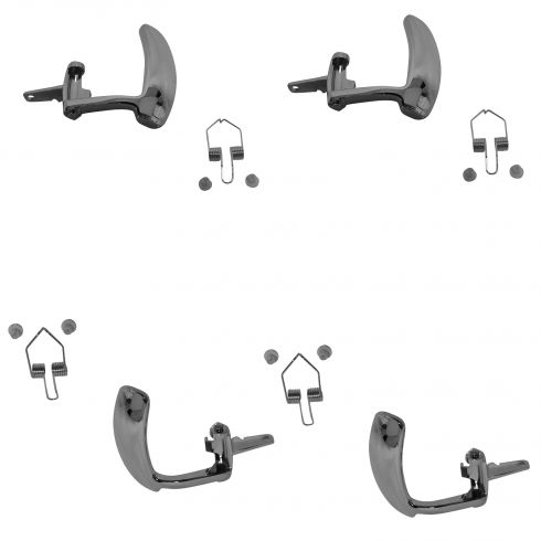 95-02 Chev PU Truck SUV Int Door Handle Lever Chrome SET of 4