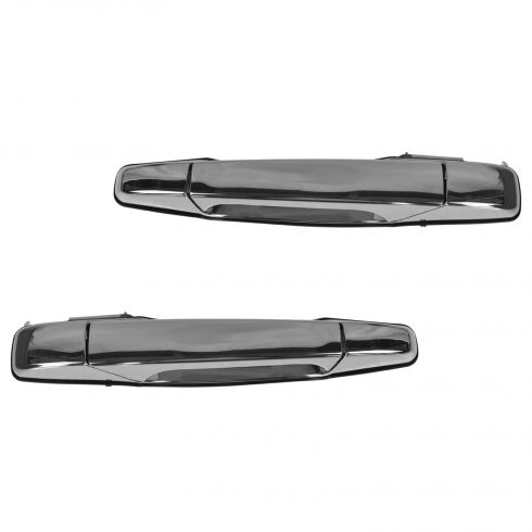 07-13 GM Full Size PU & SUV Rear Chrome Outside Door Handle PAIR