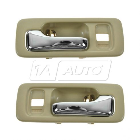 90-93 Accord Int Door Handle Beige  Pair (Dorman)