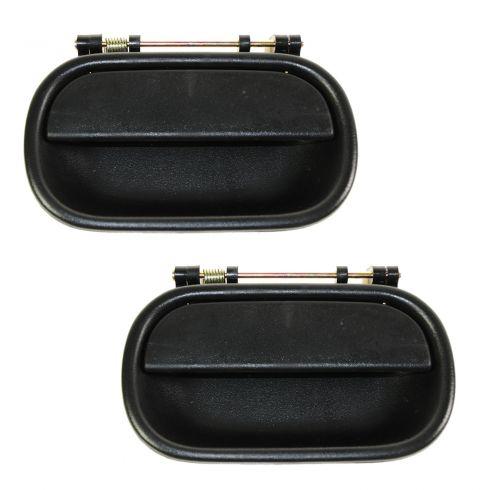 94-01 Isuzu NPR Front Door Outer Black Handle PAIR