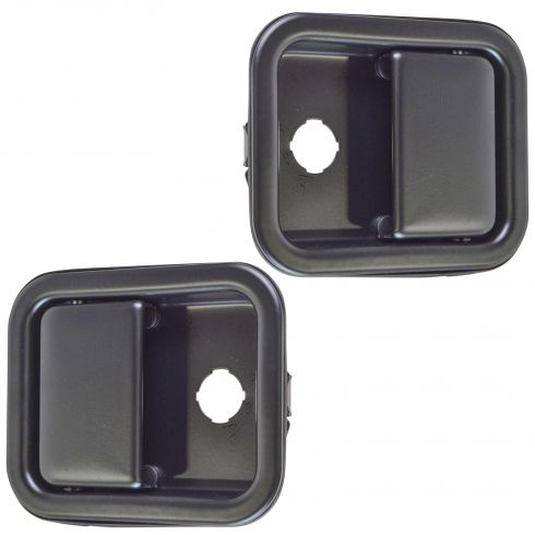 90-05 Mack CH613 Front Black Outside Door Handle PAIR