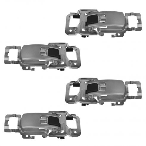 05-09 Chevrolet Equinox Front & Rear Inside Satin Door Handle Kit (Set of 4) (GM)