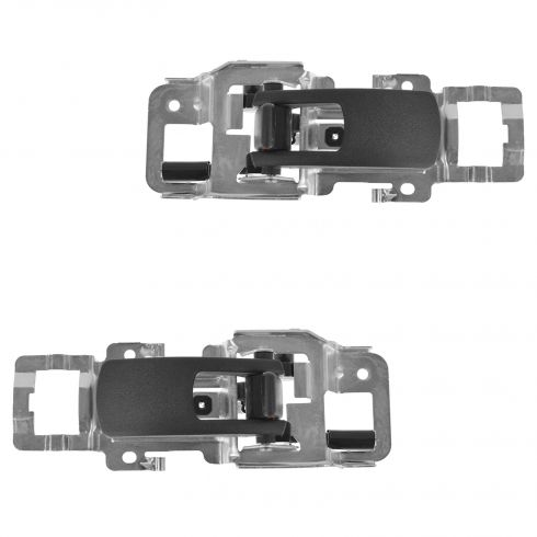 06-09 Pontiac Torrent; 05-09 Chevy Equinox Front or Rear Inside Black Door Handle PAIR (GM)