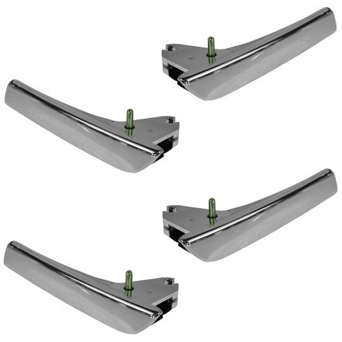 07-14 GM FS PU, SUV Front & Rear Door Chrome Pull Inner Door Handles w/Pins 4pc KIT (GM)