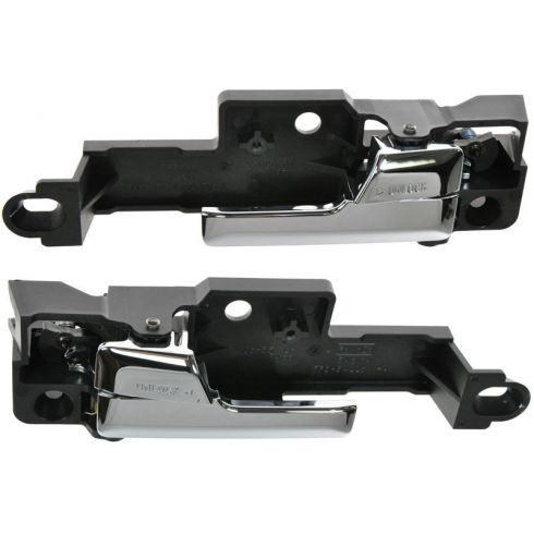 06-11 Ford Fusion, Lincoln MKz, Mercury Milan; 06-09 Zephyr Chrome & Blk Inside Door Hanlde RF (FORD