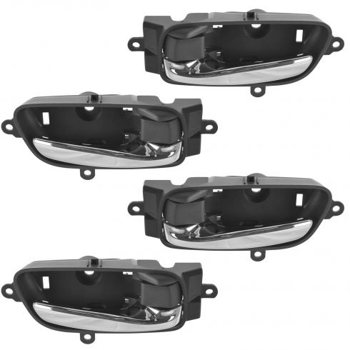 13-15 Nissan Altima, Pathfinder Front or Rear Door Chrm & Blck Inside Door Hndle Set of 4(Nissan)