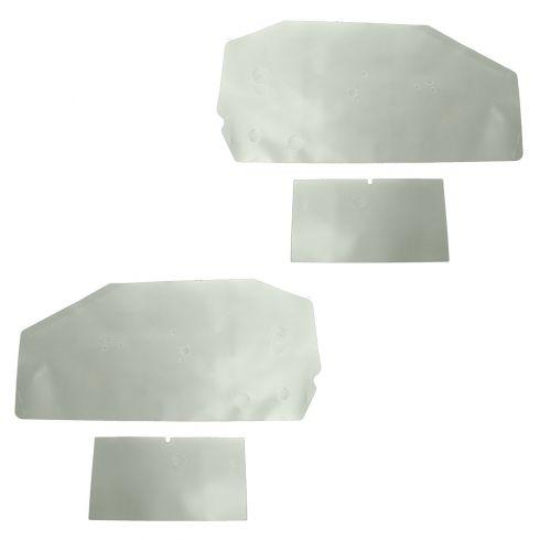 68-72 A Body plastic wtr shld