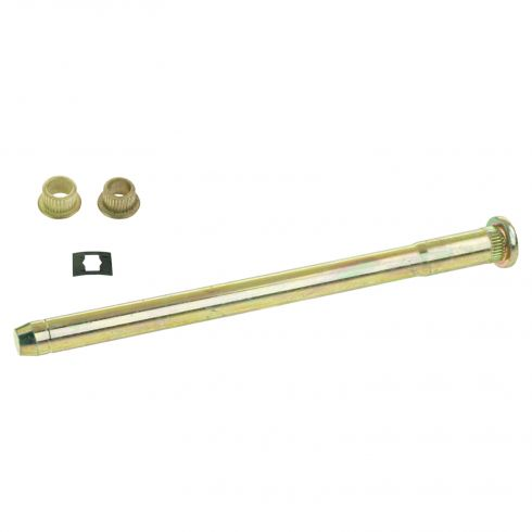 88-05 Caddy, Chevy, GMC Full Size PU, SUV Door Hng Pin & Bush Kit (1 Pin, 1 Ret Clip, & 2 Bushings)