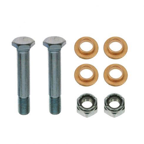 04-11 F150; 06-08 Mark LT Upr & Lwr Front Door Hinge Repair Kit (Pins, Brass Bushing, Lock Nuts)