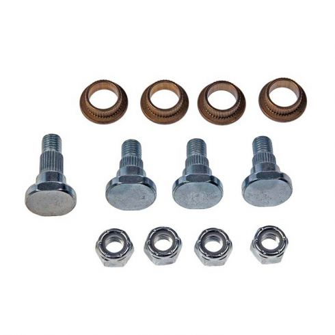 97-08 GM Mid Size SUV Front Upper & Lower Door Hinge Repair Kit (4 Pins, 4 Bushings, 4 Lock Nuts)