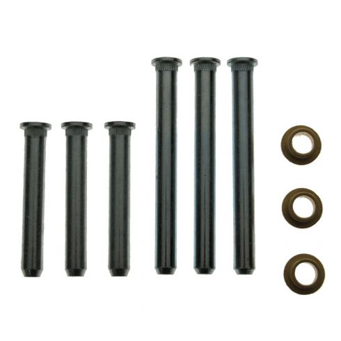 Door Hinge Pin & Bushing Kit (6 Pins & 3 Bushings)