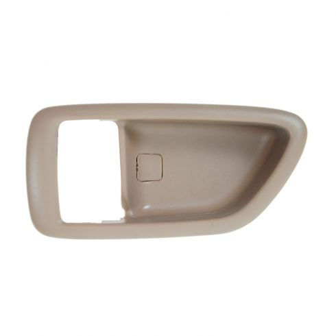 04-06 Toyota Tundra (Double Cab); 01-07 Sequoia; 00-04 Avalon Oak Inside Door  Handle Bezel  LF = LR