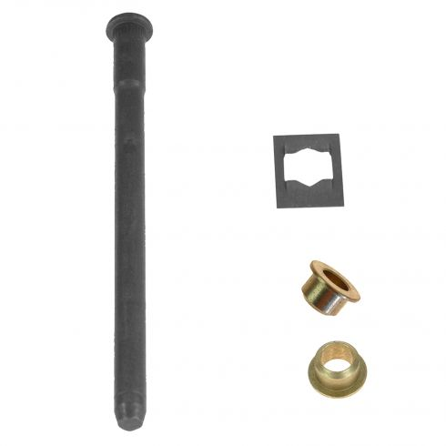 88-05 Caddy, Chevy, GMC Full Size PU, SUV Hnge Pin & Bush Kit (1 Pin, 1 Ret Clip, & 2 Bushings) (GM)