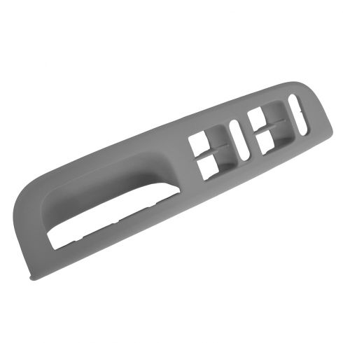 00-04 VW Passat, Jetta, Golf Front Door Panel Mounted Gray Window Switch Bezel LF (Volkswagen)