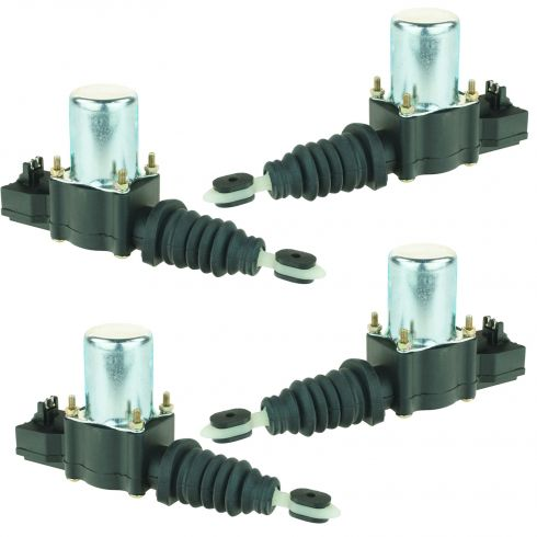 1982-92 GM Power Door Lock Actuator 4pc Set